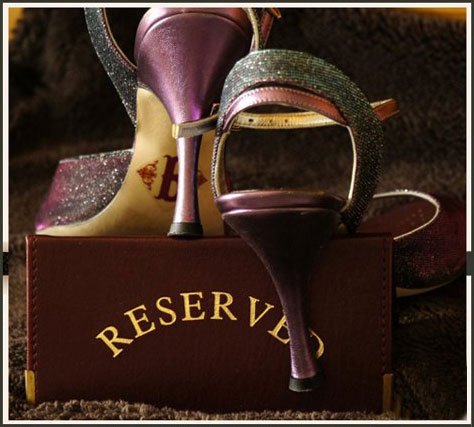 Your tango shoes - reserved!