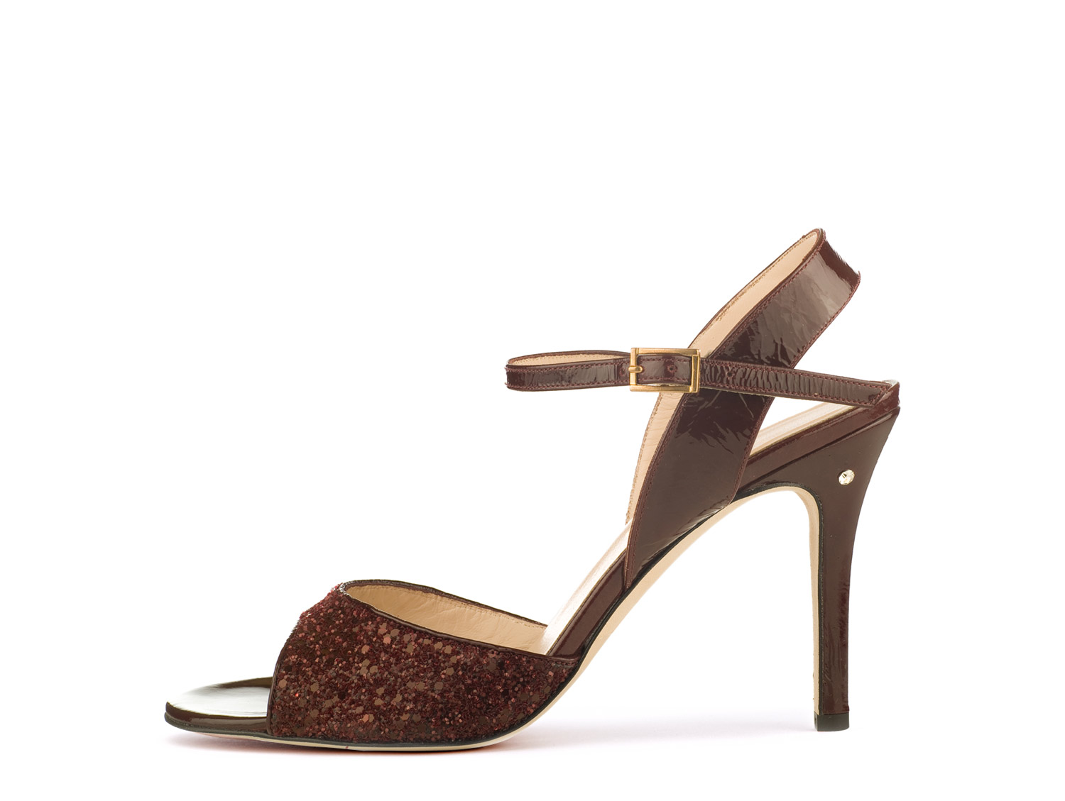 CHANTAL Vernice / Glitter Bordeaux scuro